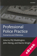 Cover of Professional Police Practice: Scenarios and Dilemmas (eBook)