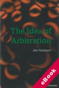 Cover of The Idea of Arbitration (eBook)
