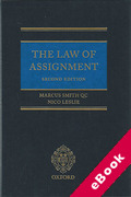 Cover of The Law of Assignment (eBook)