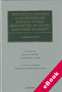 Cover of The United Nations Convention on Jurisdictional Immunities of States and Their Property: A Commentary (eBook)