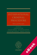 Cover of International Criminal Procedure: Principles and Rules (eBook)