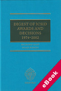 Cover of Digest of ICSID Awards and Decisions: 1974-2002 (eBook)