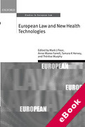 Cover of European Law and New Health Technologies (eBook)