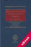 Cover of The Protections for Religious Rights: Law and Practice (eBook)