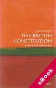 Cover of The British Constitution: A Very Short Introduction (eBook)
