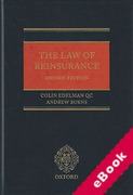 Cover of The Law of Reinsurance (eBook)