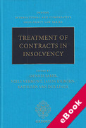 Cover of Treatment of Contracts in Insolvency (eBook)