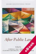 Cover of After Public Law (eBook)