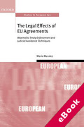 Cover of The Legal Effect of EU Agreements (eBook)