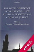 Cover of The Development of International Law by the International Court of Justice (eBook)