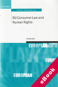 Cover of EU Consumer Law and Human Rights (eBook)