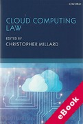 Cover of Cloud Computing Law (eBook)