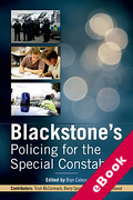 Cover of Blackstone's Handbook for the Special Constabulary (eBook)