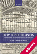 Cover of From Empire to Union: Conceptions of German Constitutional Law Since 1871 (eBook)