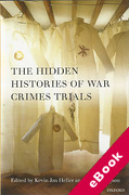 Cover of The Hidden Histories of War Crimes Trials (eBook)