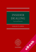 Cover of Insider Dealing: Law and Practice (eBook)