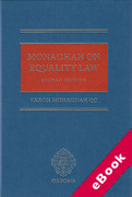 Cover of Monaghan on Equality Law (eBook)