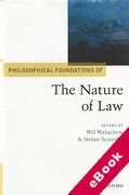 Cover of Philosophical Foundations of The Nature of Law (eBook)