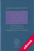 Cover of Judicial Review: Principles and Procedure (eBook)