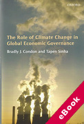 Cover of The Role of Climate Change in Global Economic Governance (eBook)