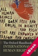 Cover of The Oxford Handbook of International Human Rights Law (eBook)