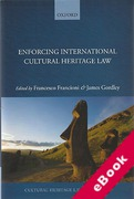 Cover of Enforcing International Cultural Heritage Law (eBook)