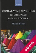 Cover of Comparative Reasoning in European Supreme Courts (eBook)
