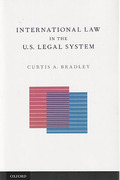 Cover of International Law in the US Legal System