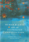 Cover of Human Rights Under the Australian Constitution