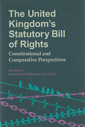 Cover of The United Kingdom's Statutory Bill of Rights: Constitutional and Comparative Perspectives