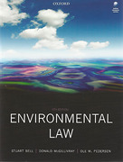 Cover of Environmental Law