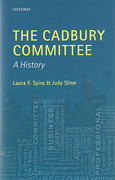 Cover of The Cadbury Committee: A History