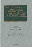 Cover of The United Nations Convention on Jurisdictional Immunities of States and Their Property: A Commentary