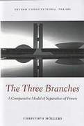 Cover of The Three Branches: A Comparative Model of Separation of Powers