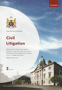 Cover of Law Society of Ireland: Civil Litigation