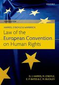 Cover of Law of the European Convention on Human Rights