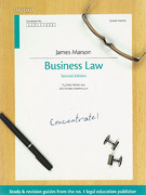 Cover of Concentrate: Business Law
