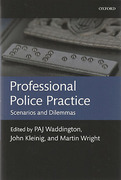 Cover of Professional Police Practice: Scenarios and Dilemmas