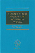 Cover of Digest of ICSID Awards and Decisions: 1974-2002