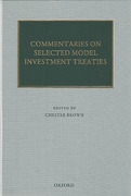 Cover of Commentaries on Selected Model Investment Treaties