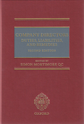 Cover of Company Directors: Duties, Liabilities and Remedies
