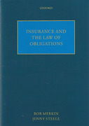 Cover of Insurance and the Law of Obligations