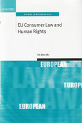 Cover of EU Consumer Law and Human Rights