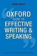 Cover of Oxford Guide to Effective Writing and Speaking