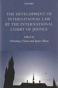 Cover of The Development of International Law by the International Court of Justice