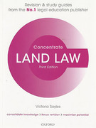 Cover of Concentrate: Land Law