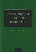 Cover of Professional Conduct Casebook