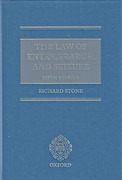 Cover of The Law of Entry, Search, and Seizure