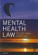 Cover of Mental Health Law: Policy and Practice