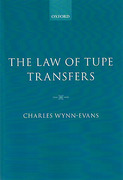 Cover of The Law of TUPE Transfers